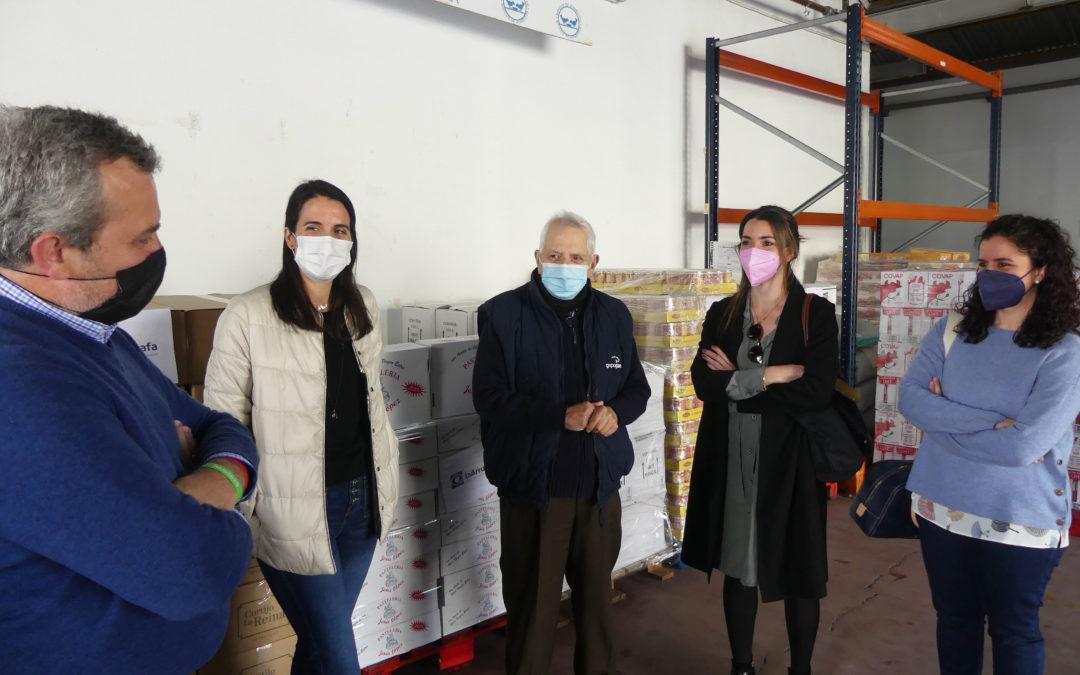 El Hospital La Arruzafa realiza una tercera donación de 7,1 toneladas de comida al Banco de Alimentos de Córdoba