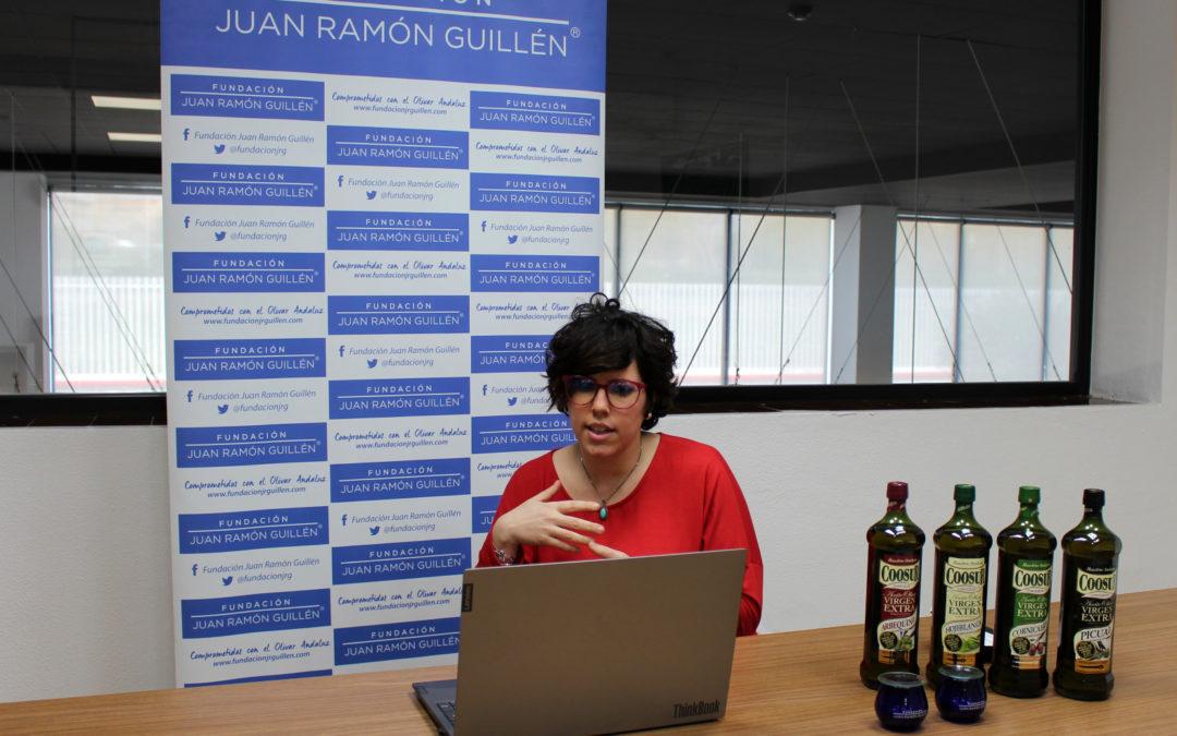 33 personas con discapacidad de diferentes zonas de España participan en dos talleres online sobre aceite  de oliva con Solidarios Coosur