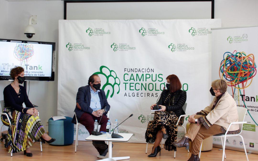 Éxito de participación en el primer Think Tank sobre talento en la provincia celebrado en Algeciras