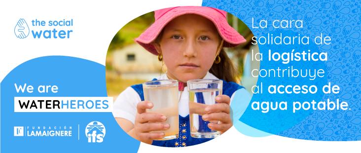 The Social Water avanza en su proyecto con la venta online de filtros en colaboración con Fundación Lamaignere