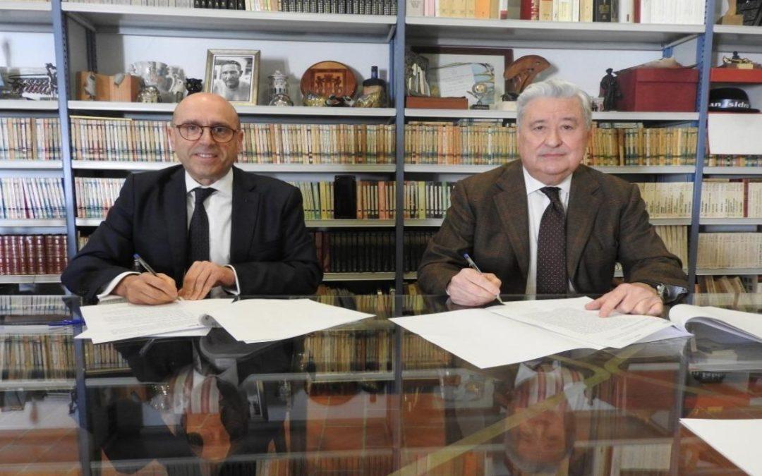 La Fundación Antonio Gala firma un acuerdo con la Fundación Cajasur para fomentar la actividad cultural