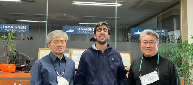La oficina de Lamaignere en Corea incorpora a un alumno en prácticas