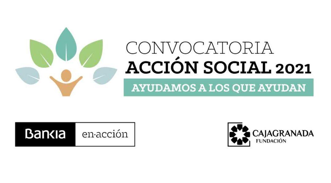 Bankia y CajaGranada Fundación lanzan la convocatoria 'Ayudamos a los que ayudan' para apoyar con 250.000 euros proyectos sociales