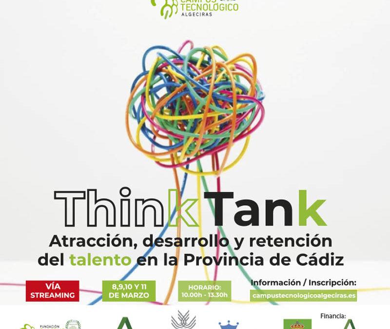 """El Campus Teconógico de Algeciras organiza su primer """"Think Tank"""", el evento para poner en valor el talento de la provincia"""