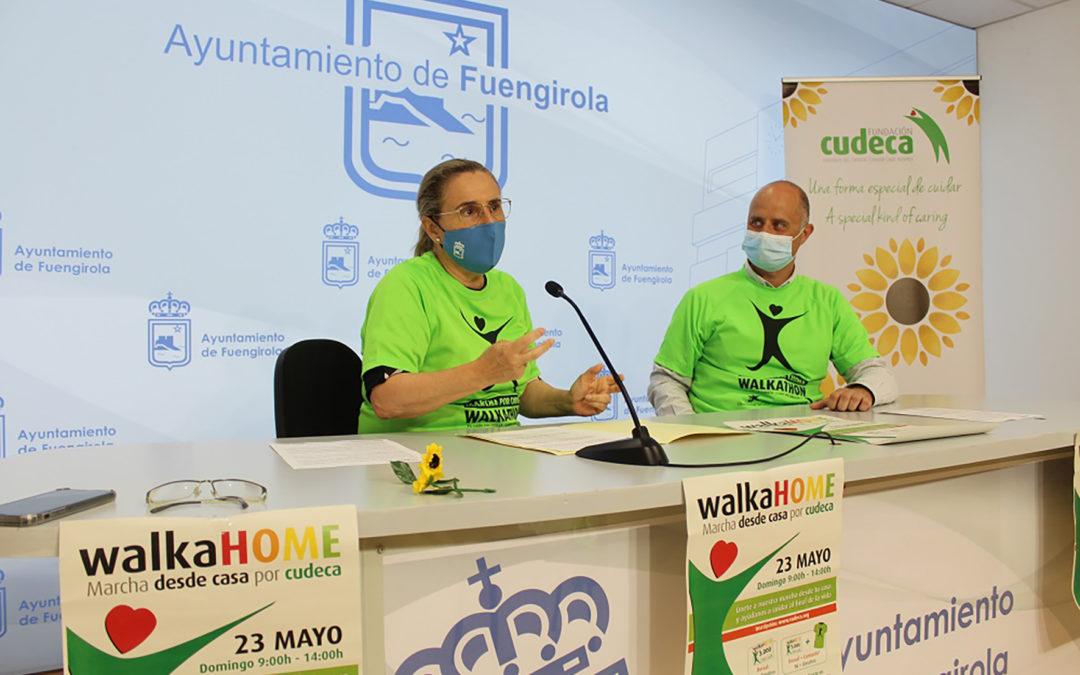"""Presentación de la Marcha desde casa por Cudeca """"Walkahome""""  en el Ayuntamiento de Fuengirola"""