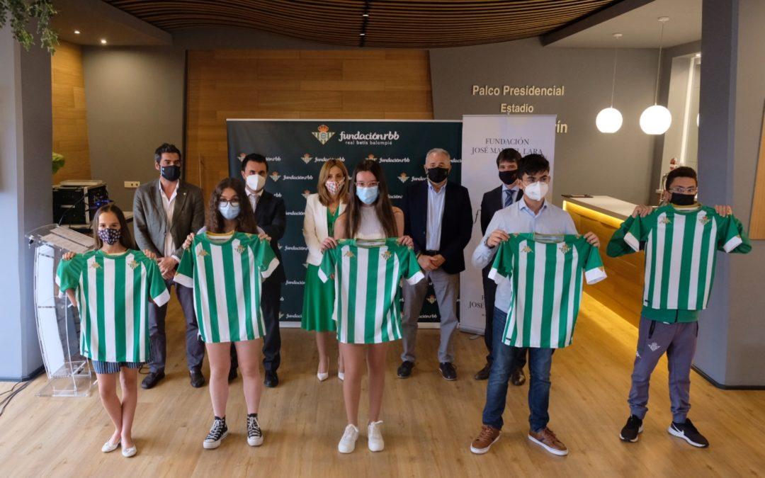 La Fundación Real Betis Balompié y la Fundación José Manuel Lara eligen los relatos ganadores del certamen  'Cuento con mi equipo'