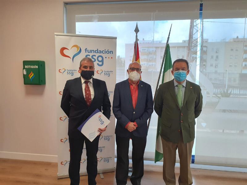 Fundación SSG y el Colegio de Médicos de Cádiz acuerdan convertir la capital gaditana en ciudad  cardioprotegida