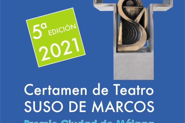 El Certamen de Teatro Suso de Marcos-Premio Ciudad de Málaga alcanza su V edición dotado con 5.500 euros