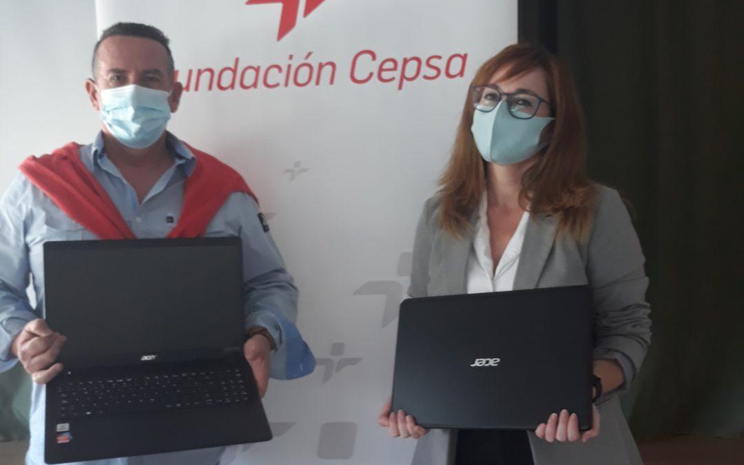 Fundación Cepsa y el colegio Sagrado Corazón, de la mano para reducir la brecha tecnológica