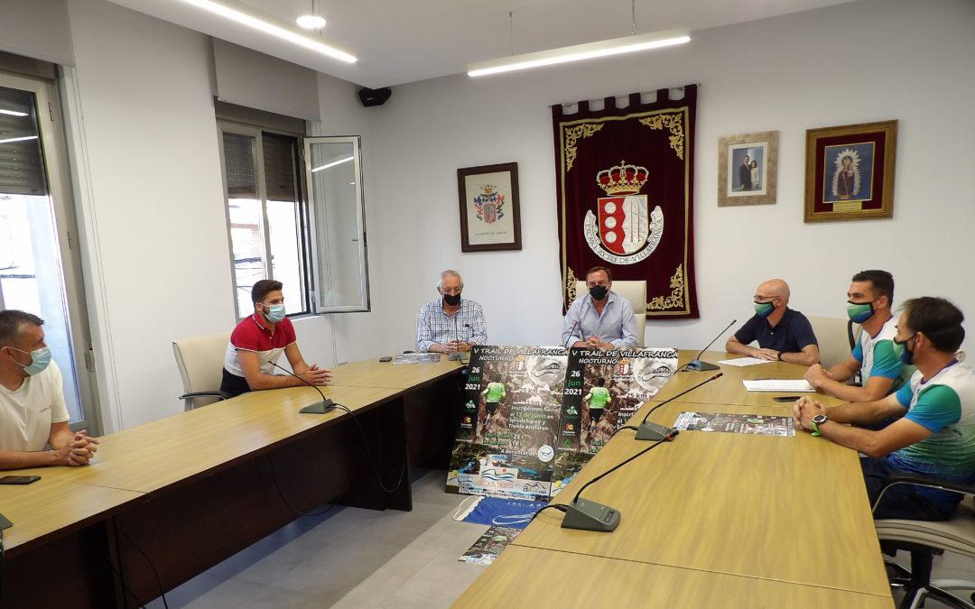 Presentado el V Trail de Villafranca, prueba deportiva solidaria a favor del Banco de Alimentos Medina Azahara de Córdoba
