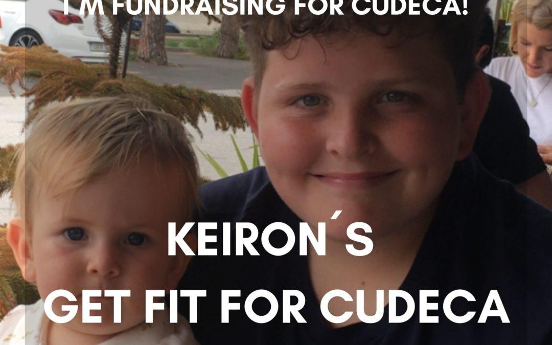 Keiron, un niño de 13 años, organiza su propio evento benéfico ¡Ponte en forma por Cudeca! para recaudar fondos