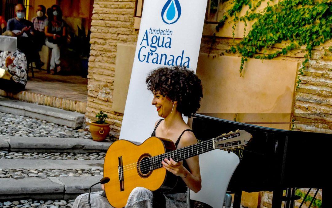Soledad Martínez, guitarra, y Marta García Cámara, piano, en los conciertos de la Fundación AguaGranada