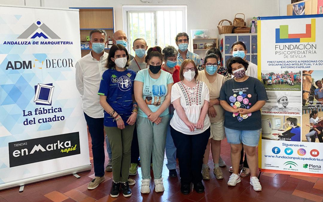 Fundación Psicopediatría firma un convenio de colaboración con Andaluza de Marquetería