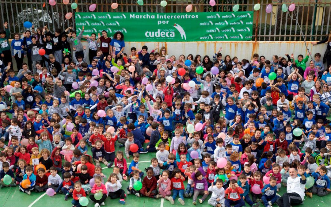 El Efecto Intercentros  Una marcha imparable para ayudar a Cudeca