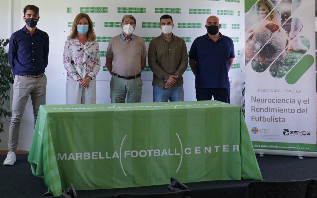 CEU Andalucía y ESYDE lanzan un nuevo máster sobre neurociencia y rendimiento del futbolista