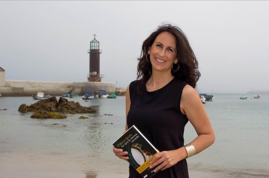 María Oruña en Sevilla, un fenómeno imparable de 300.000 lectores