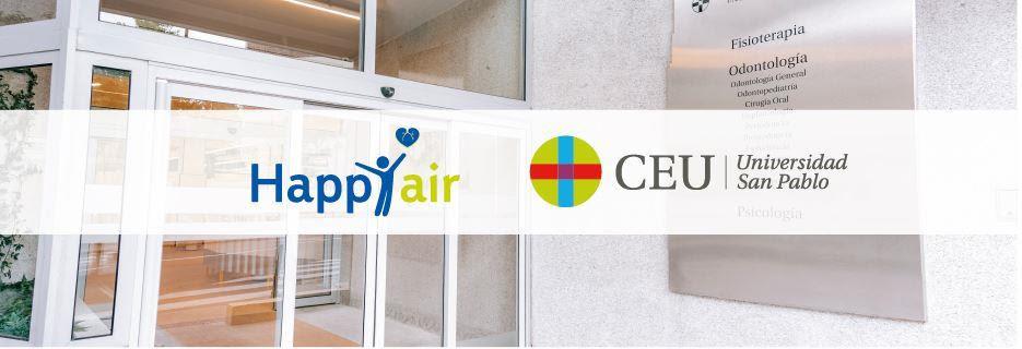 Fundación Lovexair y la Universidad CEU San Pablo de Madrid se unen para inaugurar el primer Espacio HappyAir