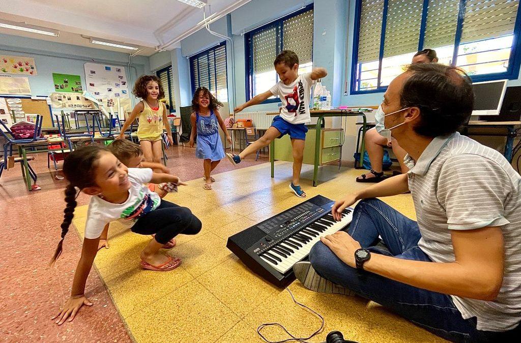 Comienza el taller de música de la Fundación Barenboim-Said en las Escuelas de Verano del Polígono Sur