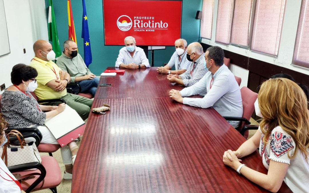 Atalaya Mining y los municipios de la Cuenca Minera renuevan su acuerdo de colaboración