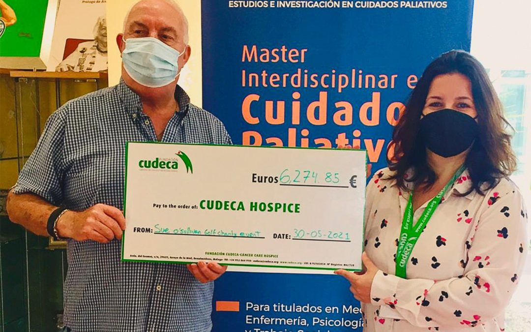 La familia O´Sullivan recauda de más de 6.000€ en su primer torneo solidario en Miraflores Golf