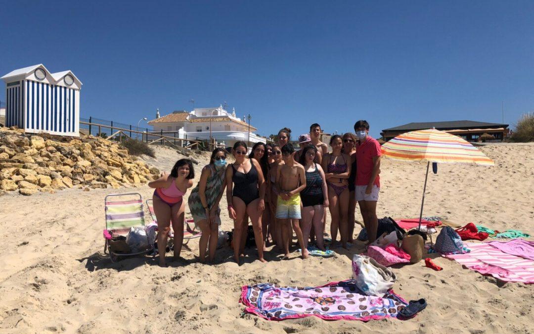 Asociación DACE viaja a la playa con sus niños y niñas con Daño Cerebral Adquirido