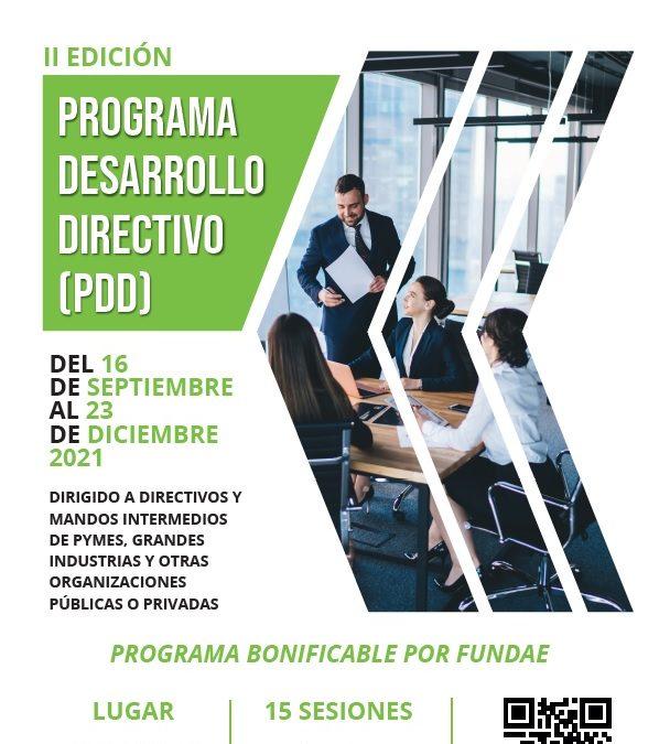La segunda edición del Programa de Desarrollo Directivo para empresas de la comarca en septiembre