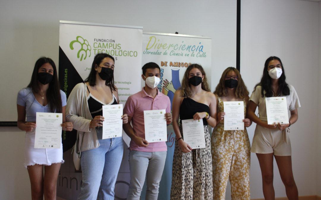 Tres estudiantes de Algeciras reciben una beca para los centros de investigación CNIO, FIDAMC y el Hospital Charité de Berlín