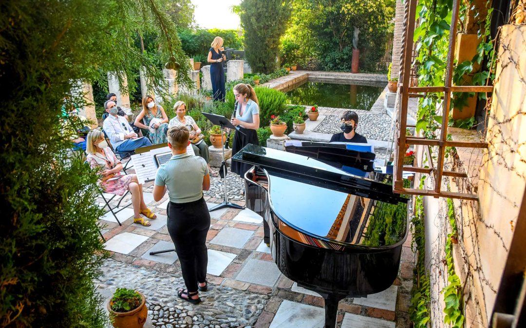 Romanticismo y vanguardia ponen el broche final al ciclo Música en el Aljibe de Fundación AgruaGranada