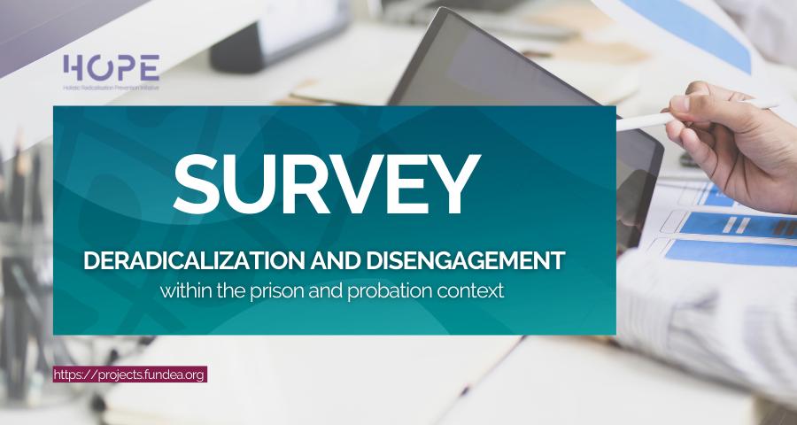 HOPE, proyecto en el que participa Fundación Euroárabe, lanza una encuesta para profesionales comprometidos con la desradicalización