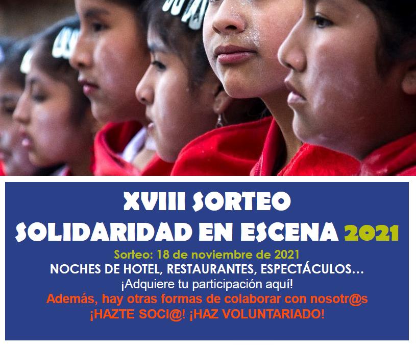 El XVIII Sorteo 'Solidaridad en Escena' de Madre Coraje rifará noches de hotel, comidas y planes culturales y de ocio