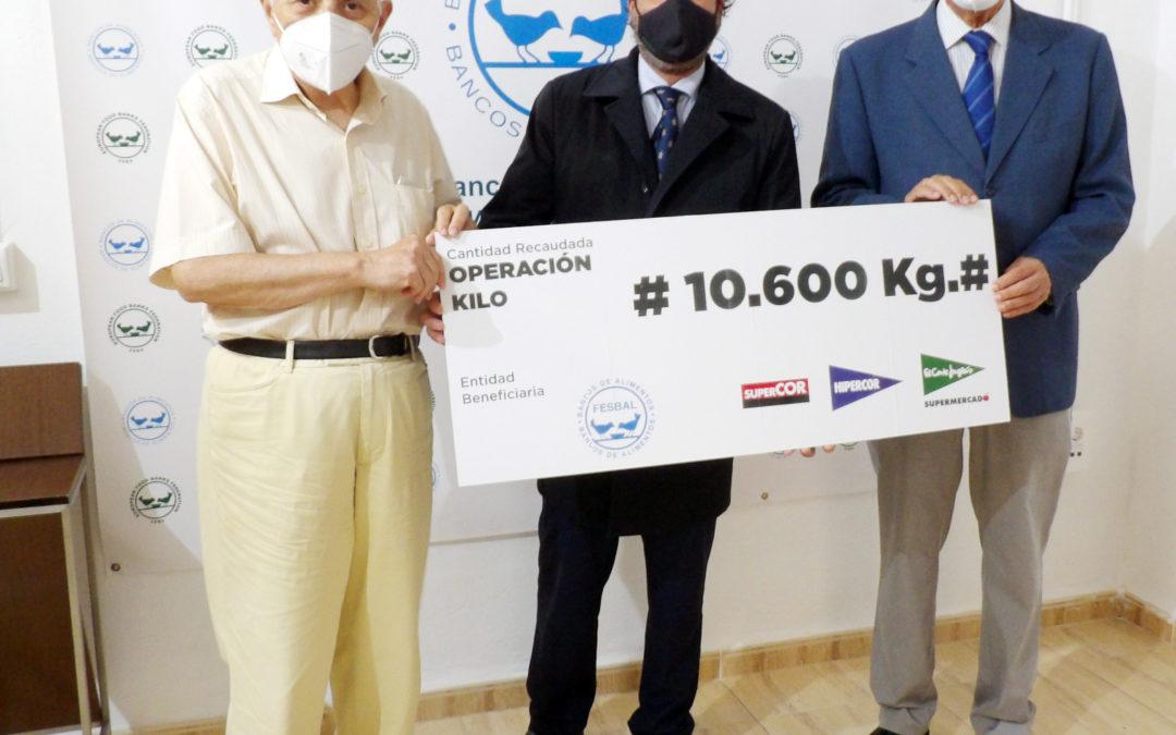 Operación Kilo en El Corte Inglés a favor del Banco de Alimentos Alimentos Medina Azahara de Córdoba