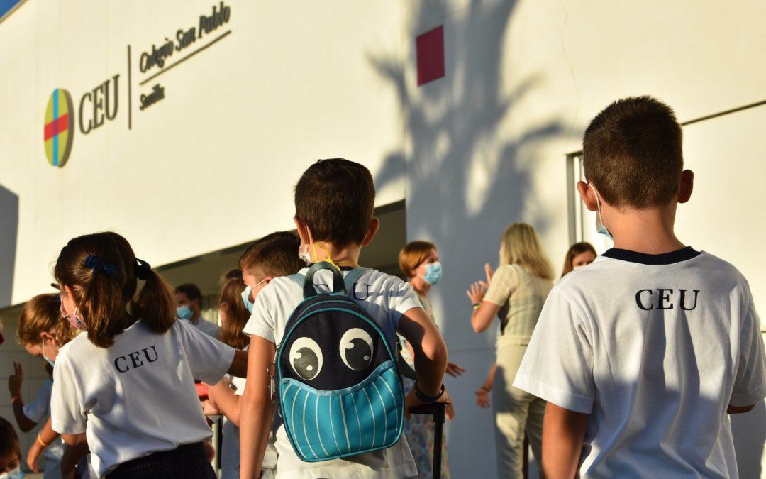 El Colegio CEU San Pablo Sevilla inicia el curso 2021-2022