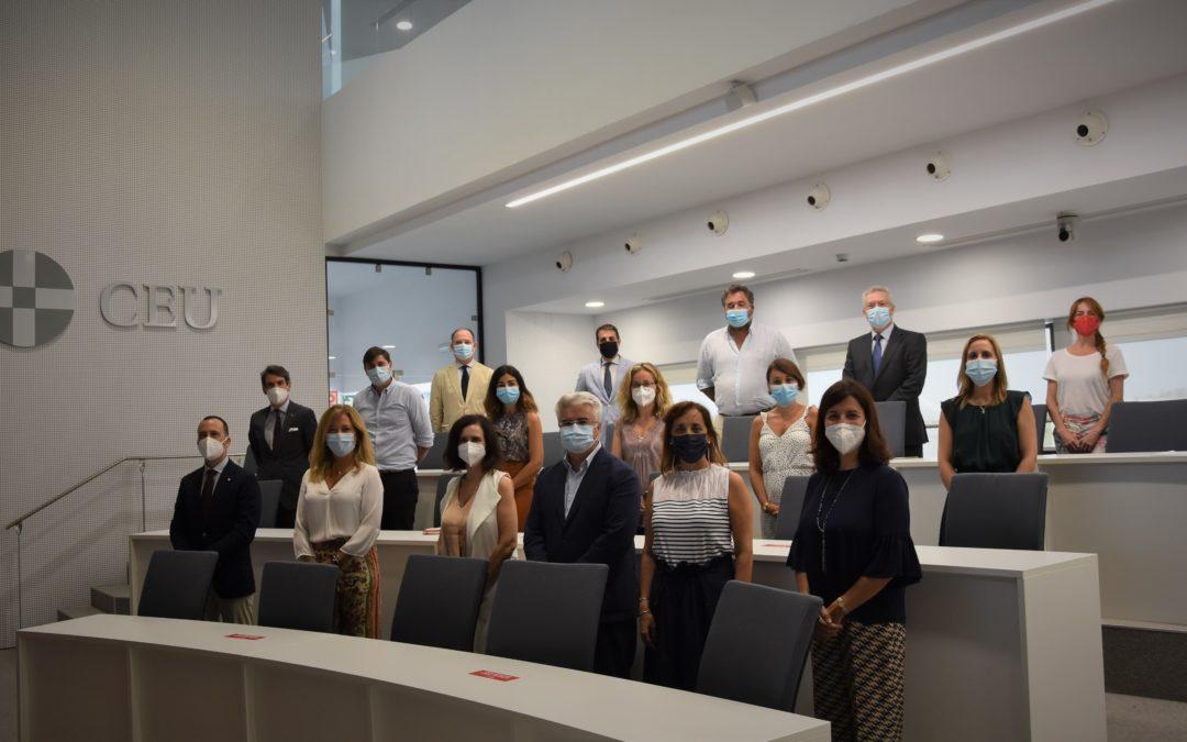 La Fundación San Pablo Andalucía CEU y el Hospital San Juan de Dios del Aljarafe exploran sinergias como agentes sociales de la comarca
