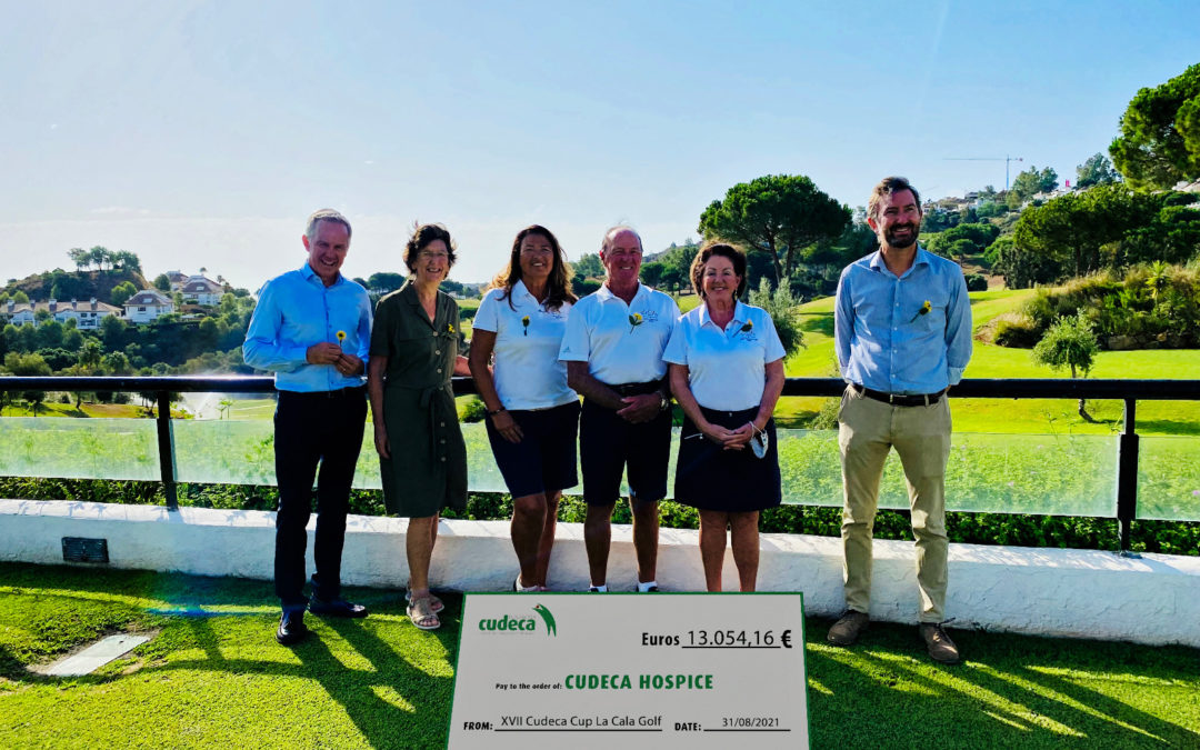 Éxito rotundo de la 27 ava edición de la Copa Cudeca organizada por los socios de La Cala Golf y entrega de fondos
