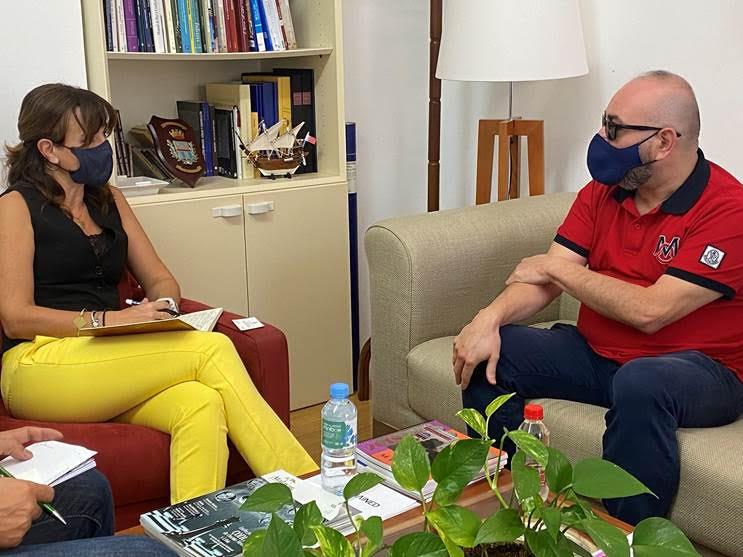 Reunión de la Euroárabe con la Consejería de Cultura de Melilla para promover la cultura Amazigh