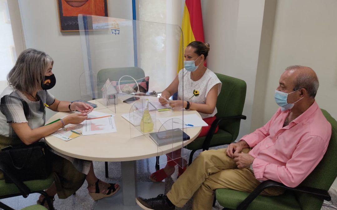 La Fundación Cudeca agradece al Ayuntamiento de Rincón de la Victoria su apoyo y la entrega de 30.000 euros para continuar con los cuidados de la fundación.