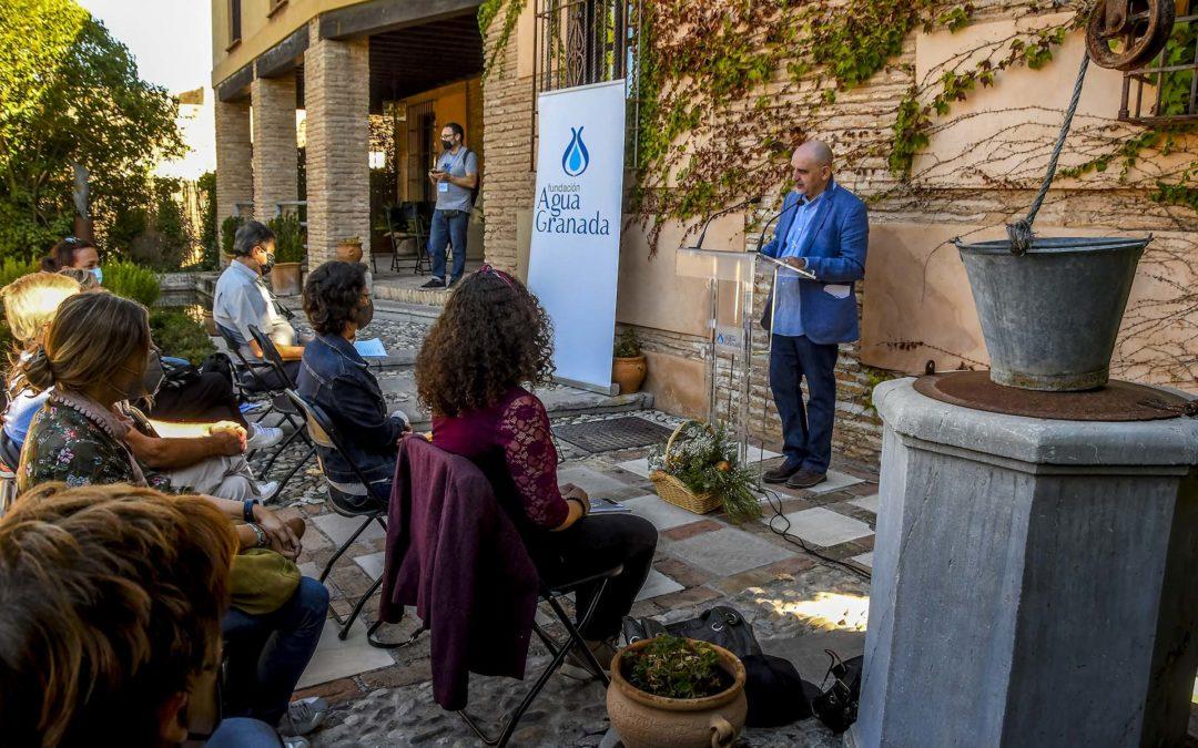 Poesía en en el Aljibe del Rey en la Feria del Libro de Granada con AguaGranada