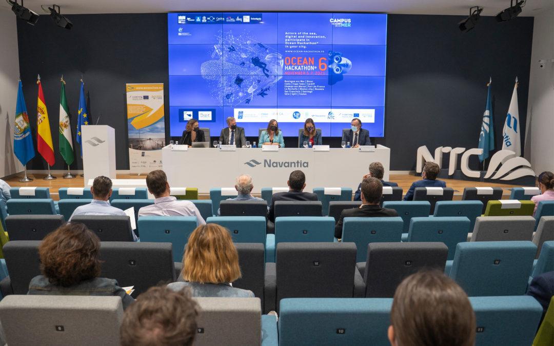 Se presenta el evento científico internacional Ocean Hackathon® San Fernando 2021