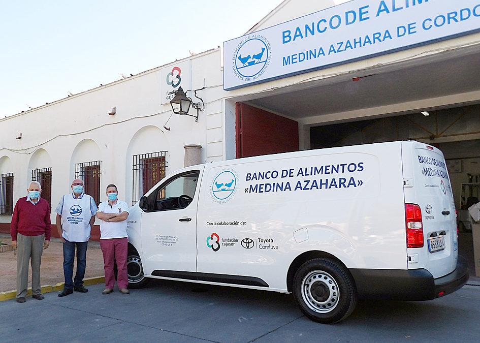 El Banco de Alimentos de Córdoba estrena su primera furgoneta eléctrica